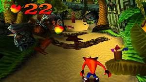 Crash Bandicoot 1 PS1 Walkthrough Level 1 N Sanity