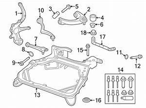 Mercury Milan Suspension Control Arm Nut  Upper  Right