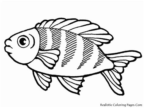 Coloring Fish by Sea Coloring Pages Realistic Coloring Pages