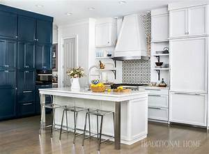 Before And After  Cool Blue Kitchen