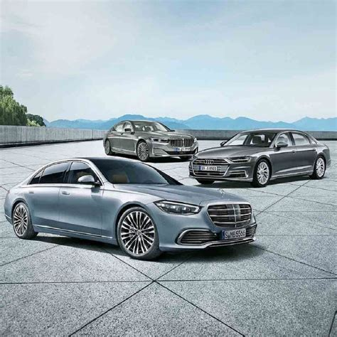 Never driven a german car before yesterday and there aren't many in my area, but people always say. Does the 2021 Mercedes S-Class Out-Luxury the BMW 7 Series and Audi A8?