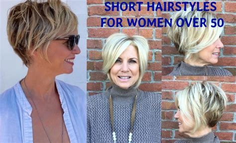25 Simple And Short Hairstyles For Women Over 50