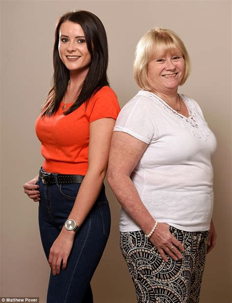 Unreal This Mother And Daughter Swapped Breast Sizes