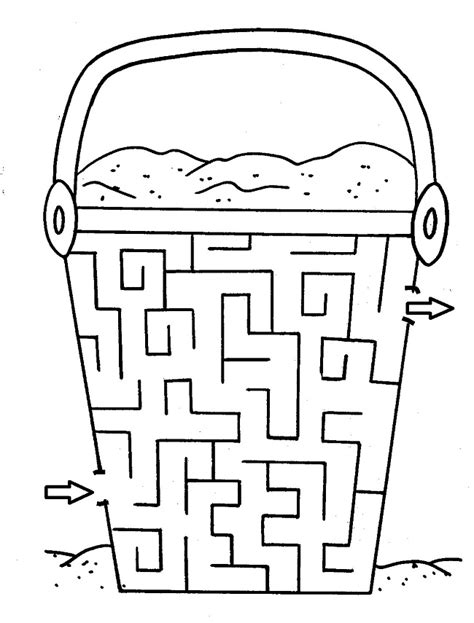 28 free printable mazes for and adults kitty baby 986 | Simple Mazes Printable