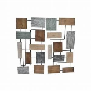 Tableau Metal Design : d coration murale en m tal tableaux m tal ~ Teatrodelosmanantiales.com Idées de Décoration