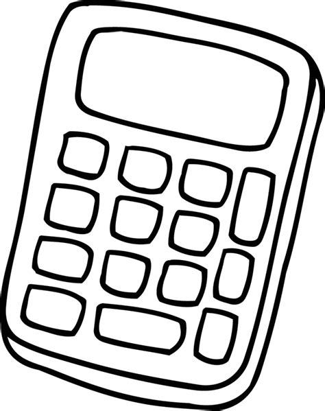 cahier cuisine coloriage à imprimer une calculatrice dory fr coloriages