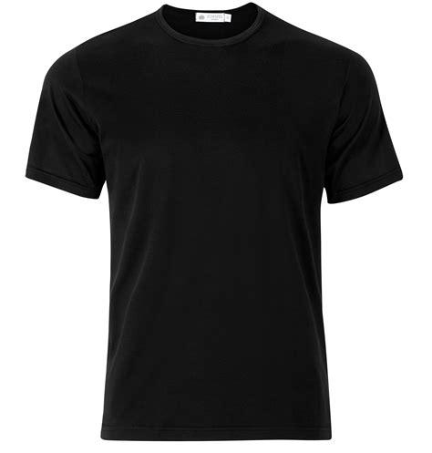 kaos tshirt hitam 39 s superfine cotton t shirt in black sunspel