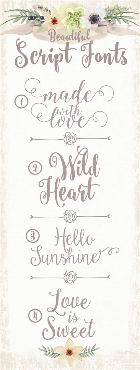 Beautiful Scripts And Fonts by 1000 Images About Lettering Fonts On