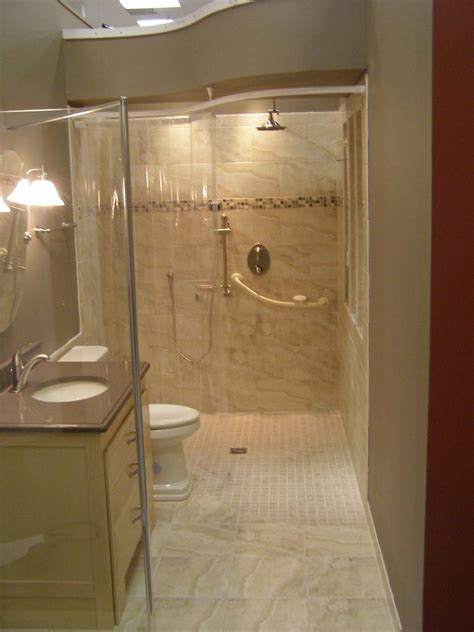 Handicapped Accessible Bathroom Designs by Glorious Handicap Bathroom Designs With Bathtub To Shower