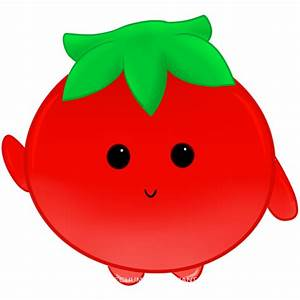 Download Tomato Cartoon Vegetables 01a Outline Pictures