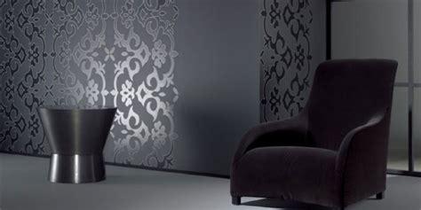 modele papier peint chambre exemple modele papier peint 4 murs