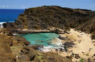 Hidden Beach Oahu Hawaii