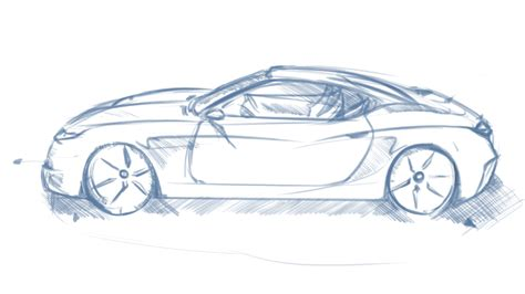 car drawing drawing cars in perspective www imgkid com the image