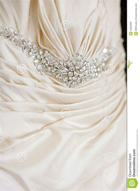 wedding dress decoration close  royalty  stock