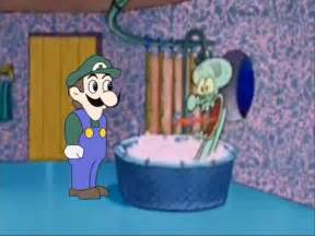 Memes Squidward Drops by Squidward's House