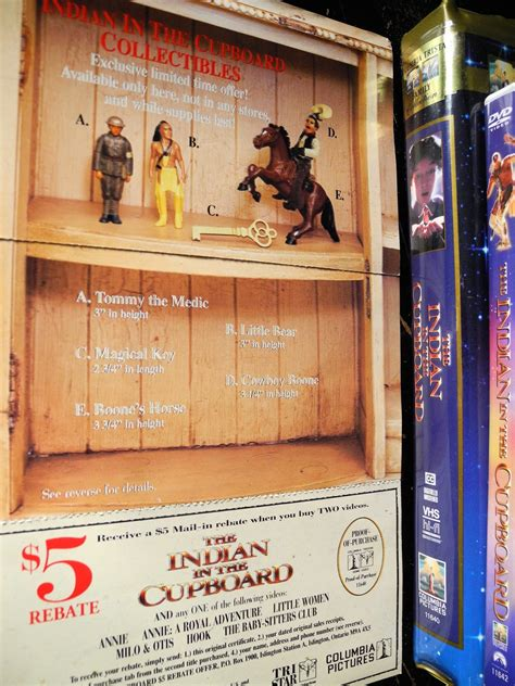 Indian In The Cupboard Figurines the indian in the cupboard collectable figure trinketeer