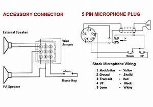 Cb Radio Mic Wiring  Cb  Free Engine Image For User Manual Download