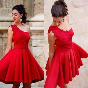 arabian evening dresses women a line red short evening With robe de gala rouge