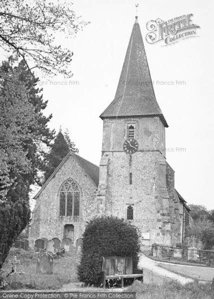 Holybourne, Holy Rood Church c.1955 - Francis Frith