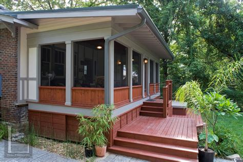 small shed roof screened porch plans modern shed roof
