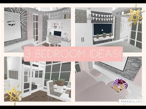 bloxburg  aesthetic bedroom ideas youtube
