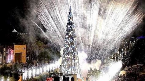 byblos christmas tree village   lebtivity