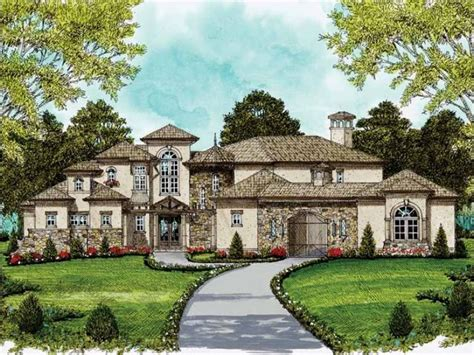 Italianate House Plan With 4170 Square Feet And 5 Bedrooms