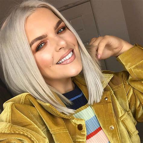 famous blonde bob hair ideas    short