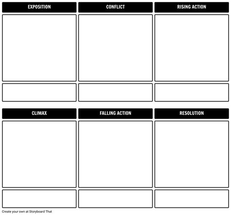 story outline storyboard template storyboard by rebeccaray