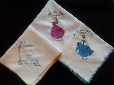 bordado servilletas cumplea 241 os bautizo 1a comuni 243 n recuerdos 18 00 en mercado libre