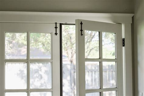 Installing Surface Bolts On French Doors — Katrina Blair