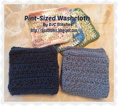 Pattern Washcloth Pint Capps Sized Donna Jean