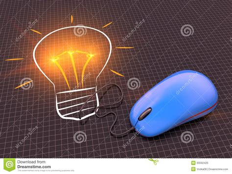 cartoon light bulb royalty  stock photo image