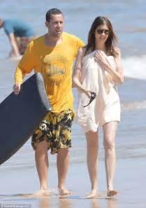 Adam Sandler enjoys Hawaii with daughters and bikini wife ...