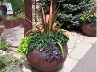 best patio plants design ideas patio flower pot arrangements | Beautiful Potted Plants Small Garden - Best Patio Design Ideas ...