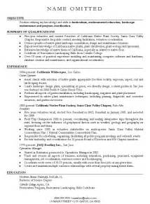 landscape manager resume sles landscape design and landscape architect resume writing exles