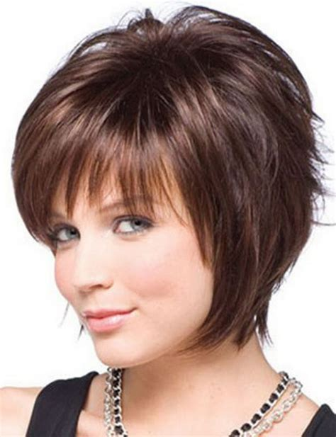 short hairstyles for round faces and thin hair 2012 25 beautiful short haircuts for round faces 2017