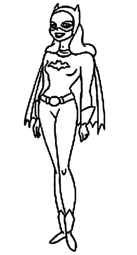 batgirl  laughing coloring pages  place  color