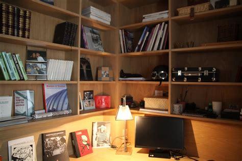 photo deco bureau exemple déco bureau bois