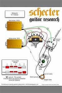 Schecter Diamond Series Wiring Diagram