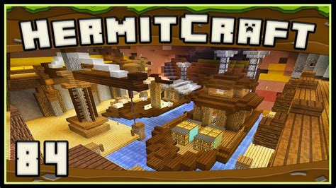 How To Make A Double Boat In Minecraft by Hermitcraft 4 Minecraft Awesome Double Boat Build Youtube