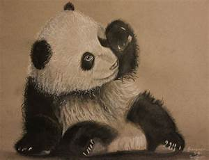Drawing : How To Draw A Cute Cartoon Baby Panda Step By ...