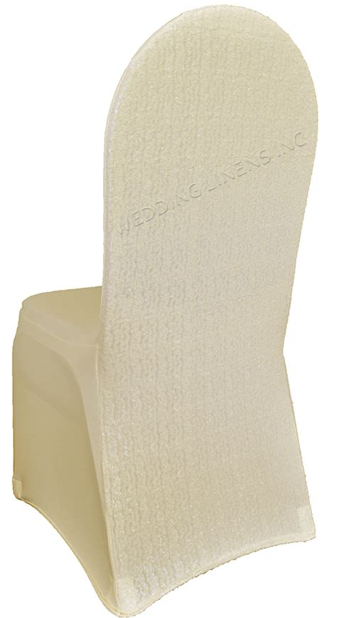 ivory sequin spandex chair covers wholesale