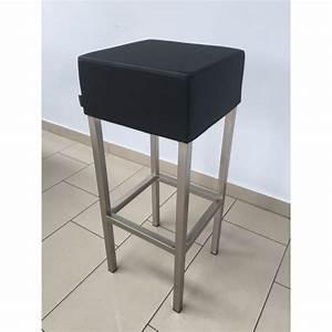 Barhocker 65 Cm : barhocker schwarz chrome tresenhocker gepolstert schwarz sitzh he 65 cm barst hle ~ Markanthonyermac.com Haus und Dekorationen