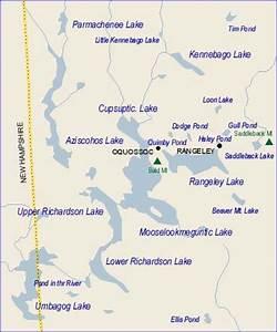 Rangeley Lakes Region Maps