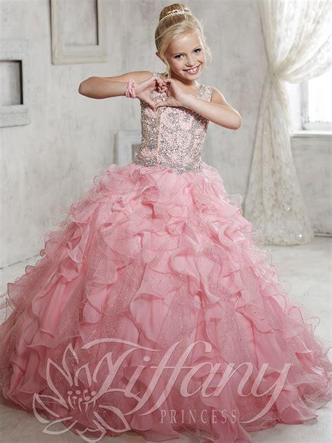 princess 13440 v neckline pageant dress