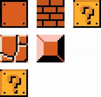 Mario Clipart Block Pixel Blocks Clip Question