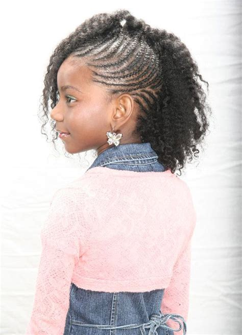 cute braided mohawk for kids natural hairstyles