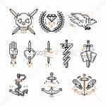 Tattoo Icon Vector Heart Stockunlimited Vectors Word