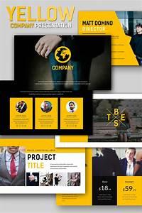 Yellow Company Business Keynote Template  66821